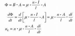 Spule Induktivität Berechnen : magnetische durchflutung elektrische spule und magnetische feldst rke der ~ Themetempest.com Abrechnung