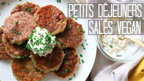 Petit Déjeuner Vegan Petits D 201 Jeuners Sal 201 S Vegan Pancakes Bacon Sans Gluten