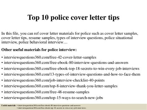 Top 10 Police Cover Letter Tips Special Education Teacher Resumes Sr Project Manager Staff Meeting Memo Sample Star Interview Questions Cover Letters Statement Template Free Word Speculative Job Application Letter Financial Analyst