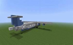 Regional Turboprop Plane Minecraft Project
