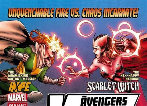 avengers avenger vs favorite witch scarlet whose side astonishing hope said comicvine caption