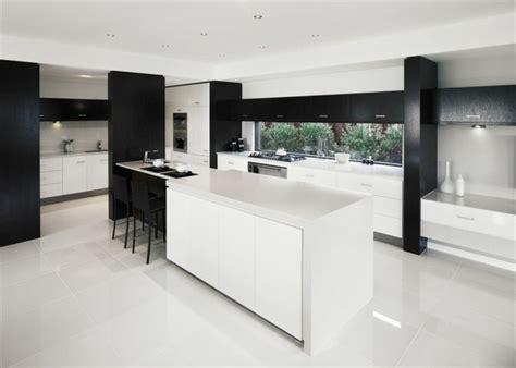 cuisine carrelage blanc merveilleux idee salon salle a manger 12 cuisine noir