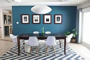 Couleur Bleu Canard Deco : d co salon bleu canard avec quelle couleur pour un int rieur d co leading ~ Melissatoandfro.com Idées de Décoration