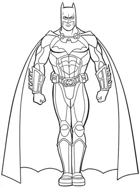 Get This Batman Coloring Pages Free Printable 679163