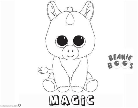 Ty Beanie Boos Coloring Pages Democraciaejustica
