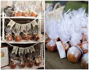 Fall wedding ideas for a rustic wedding rustic wedding chic for Candy apple wedding favors