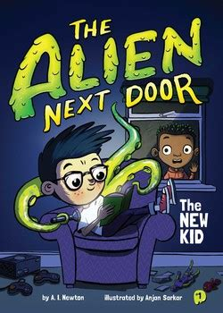 alien  door    kid book    newton