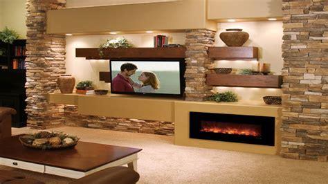 Floating wall cabinets, media room wall ideas modern media