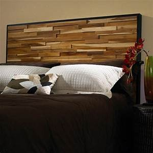 Reclaimed Wood Panel Headboard - Modern - Headboards - by