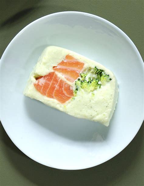 cuisine fut saumon terrine saumon brocolis pour 4 personnes recettes à