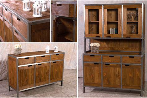 Metall Möbel m 246 bel im industriedesign ein look aus holz metall