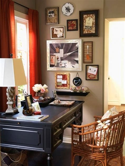 retro vintage  charming home offices