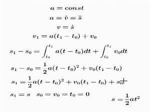 Zeit Berechnen Formel : kinematik teil 2 die beschleunigte bewegung herleitungen lernzuflucht podcast hagen physik ~ Themetempest.com Abrechnung