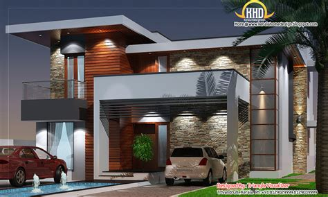 modern contemporary floor plans modern house elevation 2831 sq ft home appliance