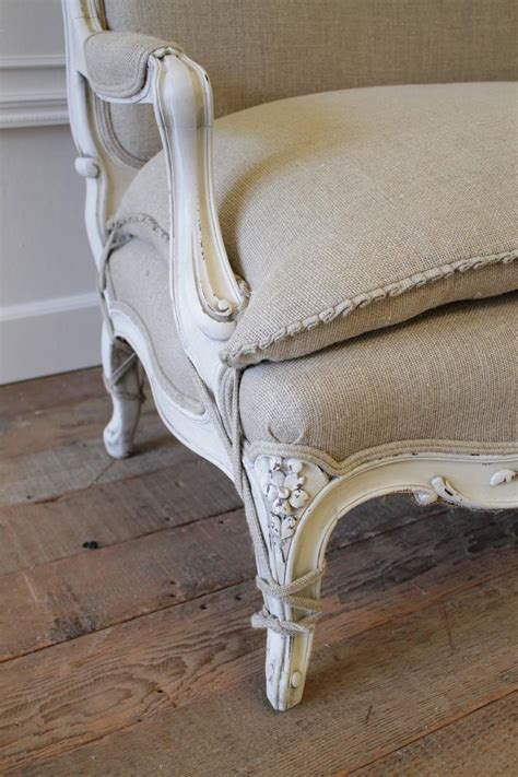 What Is Settee by Antique Painted Country Louis Xv Style Sofa Settee