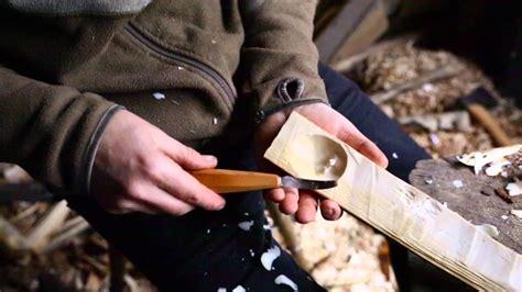 carve  bowl   spoon   hook knife
