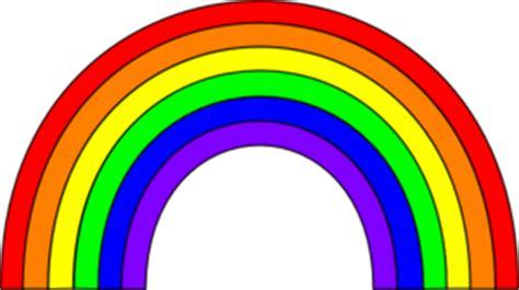 color rainbow clip art  clkercom vector clip art