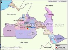 Maguindanao Map Map of Maguindanao Province, Philippines