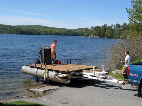 Skiff Lake Boat Launch by Lucas How To Launch A Sailboat From A Boat R