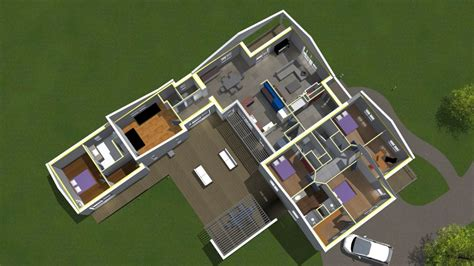 plan cuisine 3d en ligne cool fascinante plan maison d plans de maisons en d plan maison d