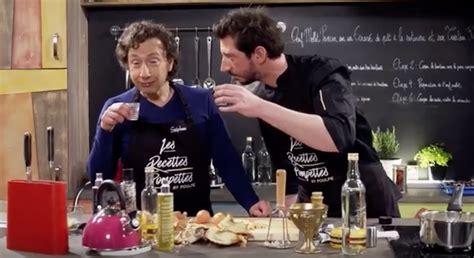 emission tv de cuisine stéphane bern bourré dans une émission de cuisine
