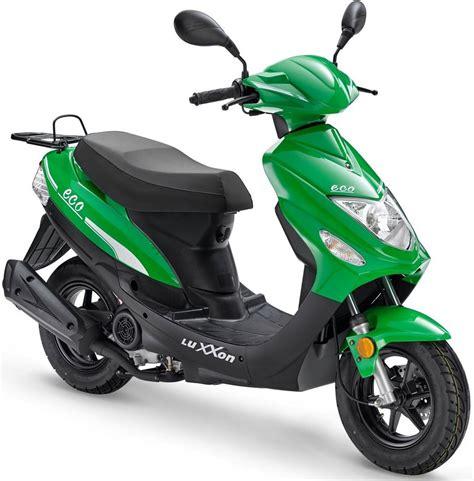 motorroller 25 km h luxxon motorroller 187 eco 25 171 49 ccm 25 km h 4