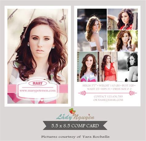 free comp card template instant modeling comp card photoshop templates