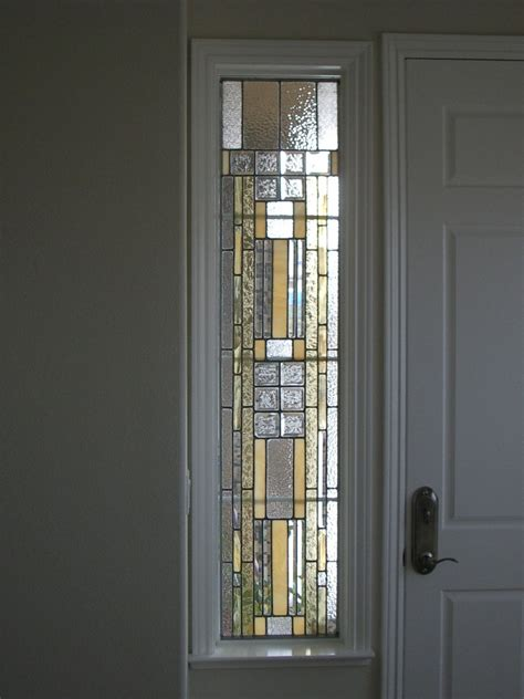 Sidelight Curtain Panel by Stained Glass Design Showcase Stained Glass Designs