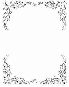 vintage borders free and art on pinterest With free wedding invitation pictures clip art