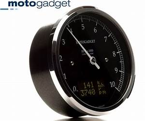 Bikermart  Motogadget Chronoclassic Dark Edition 80mm