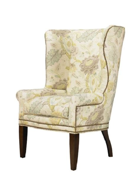 upholstered wing chairs for sale at 1stdibs