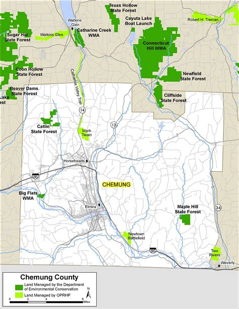 chemung county map nys dept  environmental conservation