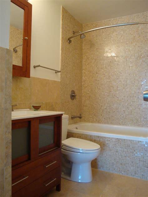 condo bathroom ideas small bathroom in lincoln park condo contemporary bathroom chicago by design build 4u