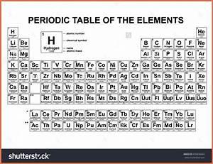 black and white periodic table | bio example