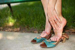 swollen ankles  elderly  treatment  exercises
