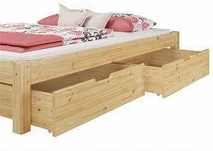 Doppelbett Holz 180x200 : doppelbett ehebett 180x200 massivholz kiefer natur kingsize bett rollrost matratze m2 ~ Frokenaadalensverden.com Haus und Dekorationen
