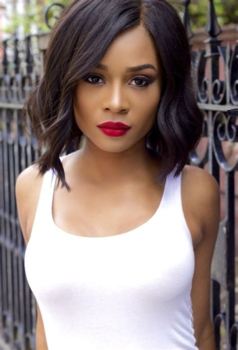 zuri hall hair pinterest follow  bobs  search