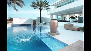 beautiful houses with swimming pool - YouTube