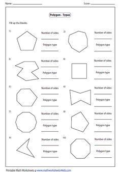 polygon shapes regular  irregular shapes