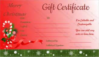 20 holiday gift certificate templates free sle exle format download free premium