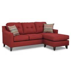 Chaise Sofa by Marco Red Chaise Sofa American Signature Furniture