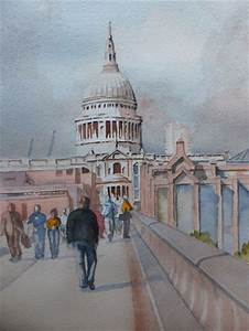 St. Paul's Cathedral London - Watercolour Painting by ...