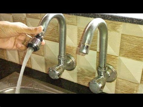 kitchen sink tapfaucet extension youtube