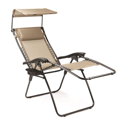 picnic time reclining c chair with footrest picnic time serenity reclining lounge chair with sunshade