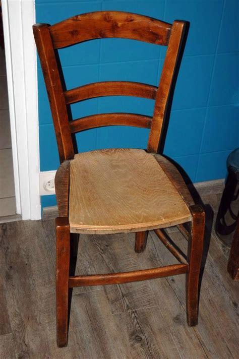 refaire une chaise en paille tuto chaises ou comment retapisser une chaise en paille ou