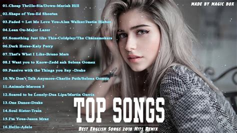 The Best Song Best Songs 2018 2019 Hits New Songs Playlist The