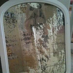 Decoupaged Antique Mirror The Silver Nest In 2018