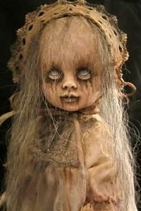 Creepy Girl Ghost Ennui - OOAK Gothic Horror Repainted ...