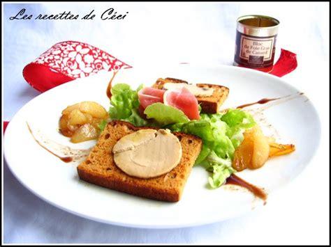 toasts de foie gras de la maison petricorena en salade