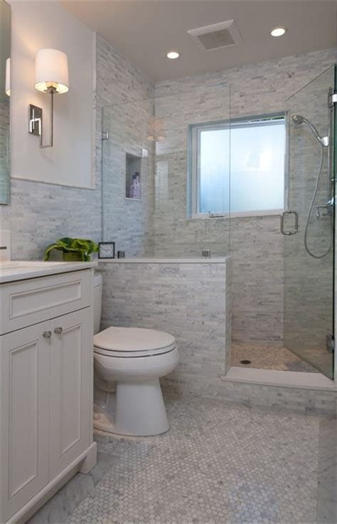 Tile Bathroom Walls Or Not by Like The Half Wall Not The Tile Bathroom Ideas